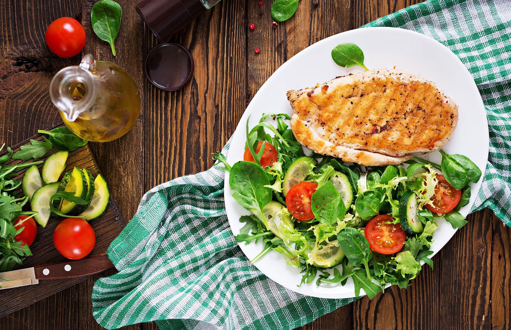 Sağlıklı Beslenmek İçin Tavuk Şart!
